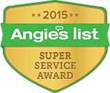 Angie's List Super Service 2015 Award
